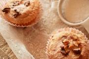 muffins din albusuri cu nuca de cocos si ciocolata