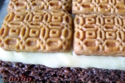 Prajitura cu biscuiti si crema