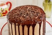 tort de ciocolata cu caramel