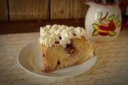 felie tort cu mere