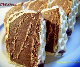 Rulada de napolitana cu ciocolata de casa