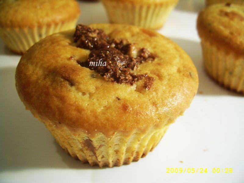Muffins cu nuca de cocos