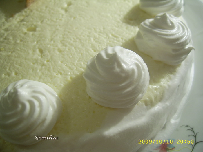Asamblate tort cu crema mascarpone
