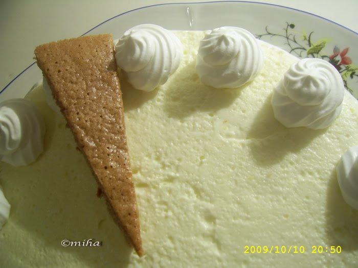 Ornare tort cu crema mascarpone