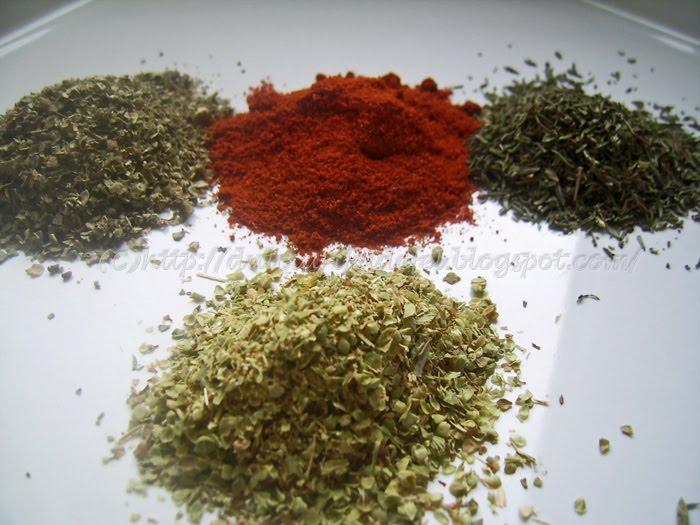 Condimente pentru za'atar