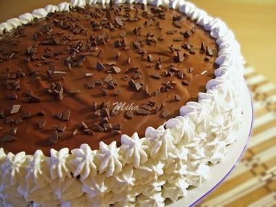 tort cu ciocolata si nuca