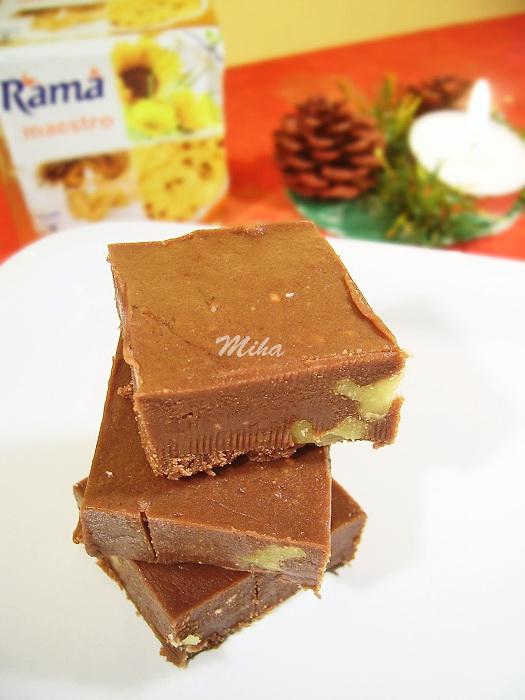 Ciocolata de casa cu nuci