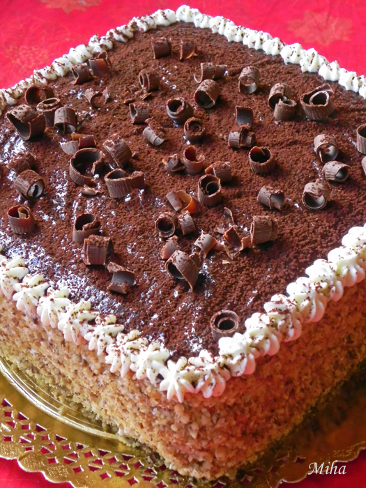 Tort martisor cu ciocolata