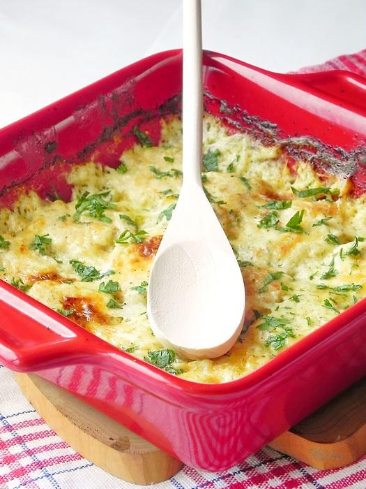 Chiftelute gratinate la cuptor