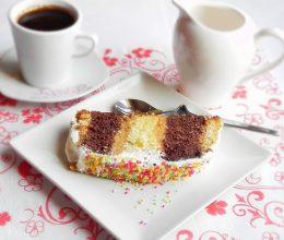 Prajitura de casa cu crema caramel