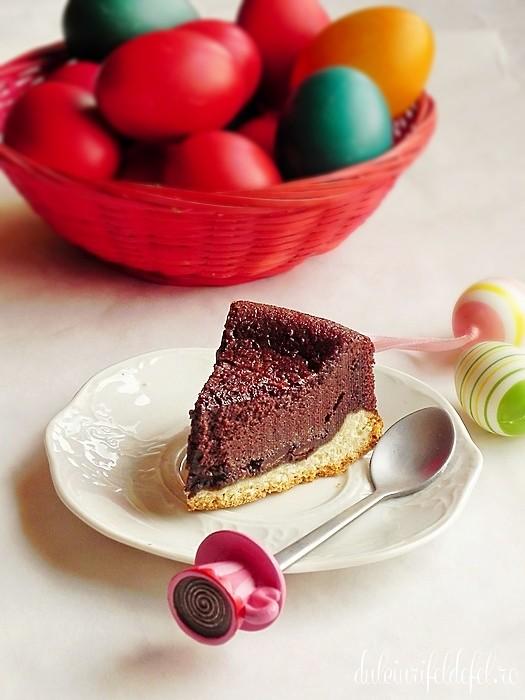 pasca cu ciocolata