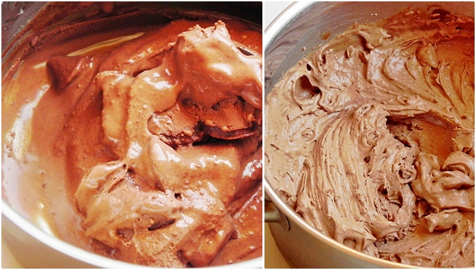 preparare inghetata de ciocolata