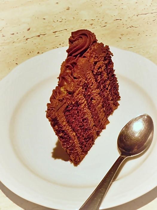 sectiune tort de ciocolata