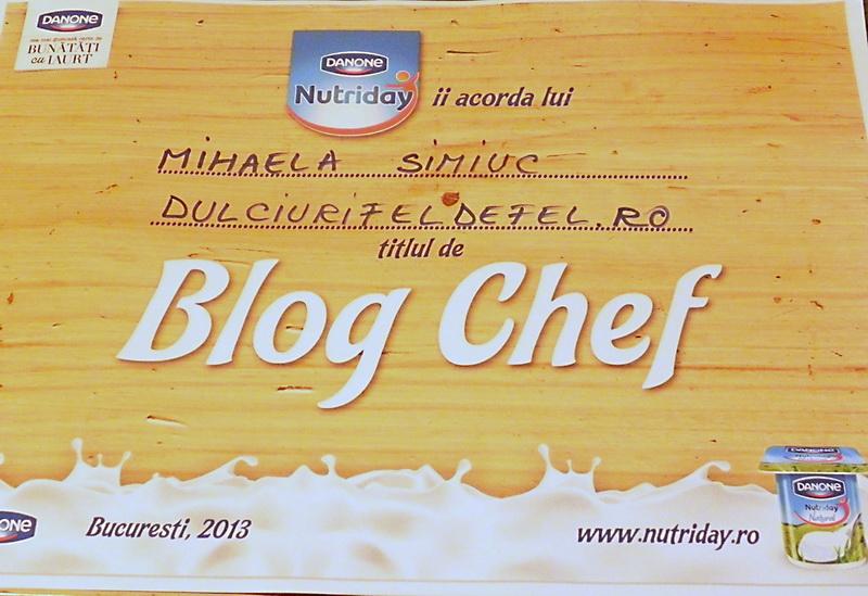 diploma blog chef