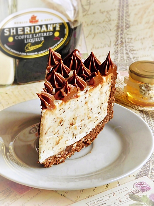 Prajitura cu iaurt Nutriday si ciocolata