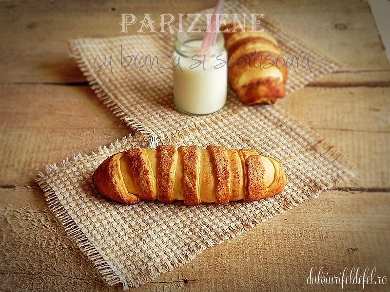 pariziene cu branza si scortisoara