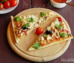 Pizza – it's pizza time!