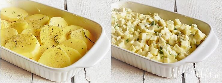 Cartofi inainte de cuptor