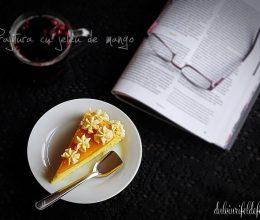 Prajitura cu jeleu de mango