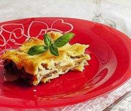 Lasagna cu ciuperci