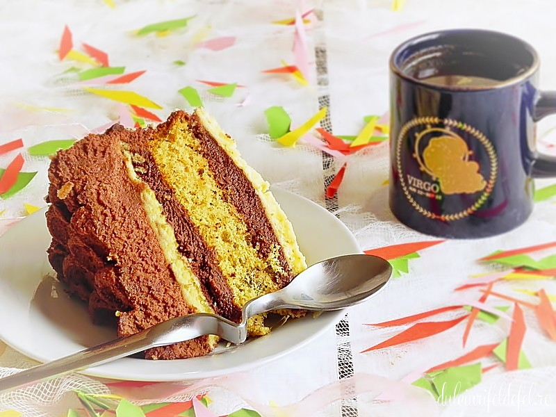 Felie tort de ciocolata