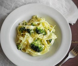 Paste cu broccoli si parmezan