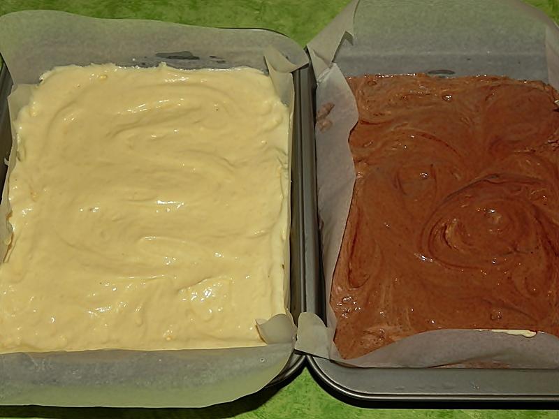 Balt de vanilie si blat de cacao