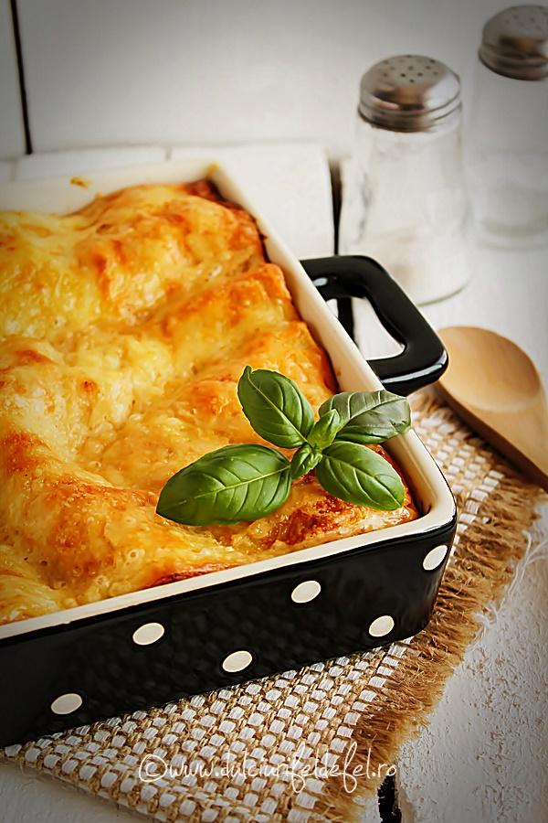 Foi de lasagna cu branza si leurda