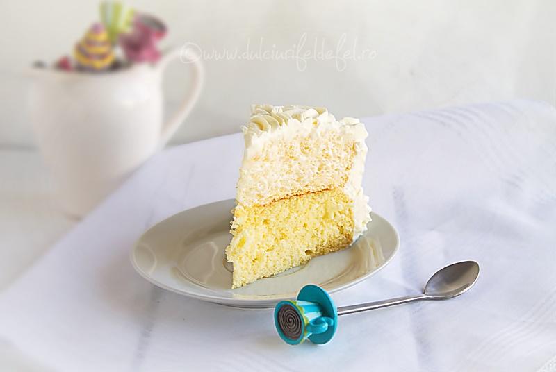 Felie de tort cu bezea