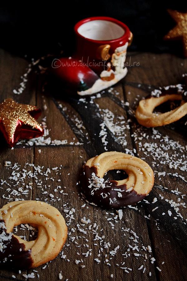 Fursecuri cu unt si ciocolata