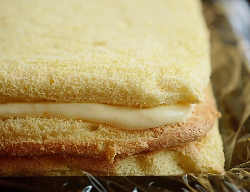 Preparare prajitura cu crema de lamaie