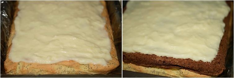 Preparare prajitura cu trei blaturi