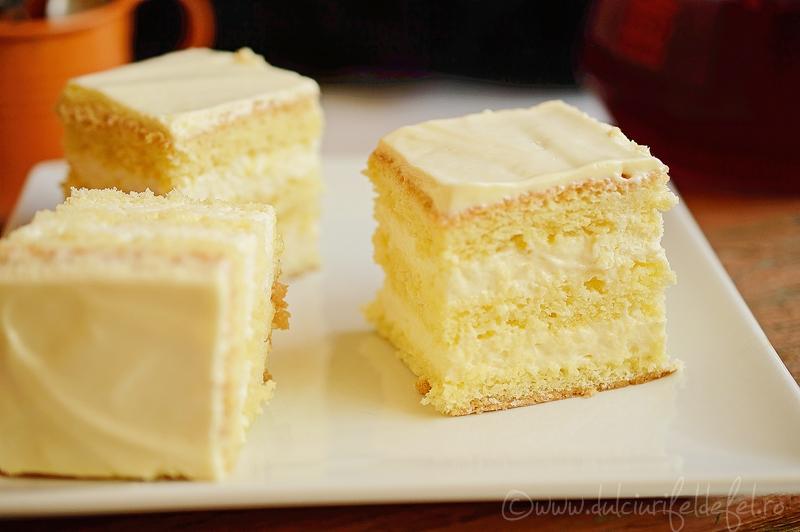 Prajitura cu crema mascarpone si lamaie