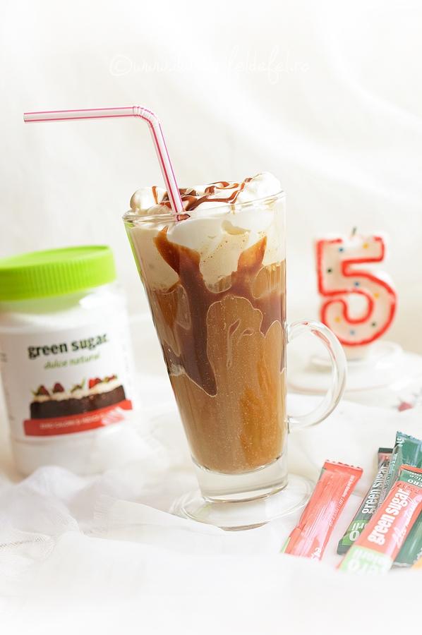 Milkshake cu cafea si inghetata de vanilie