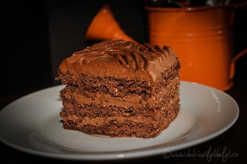 Prajitura de casa cu ciocolata