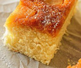 Tarta cu mere in caramel