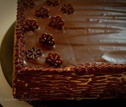 Tort cu crema mascarpone si Dulce de Leche