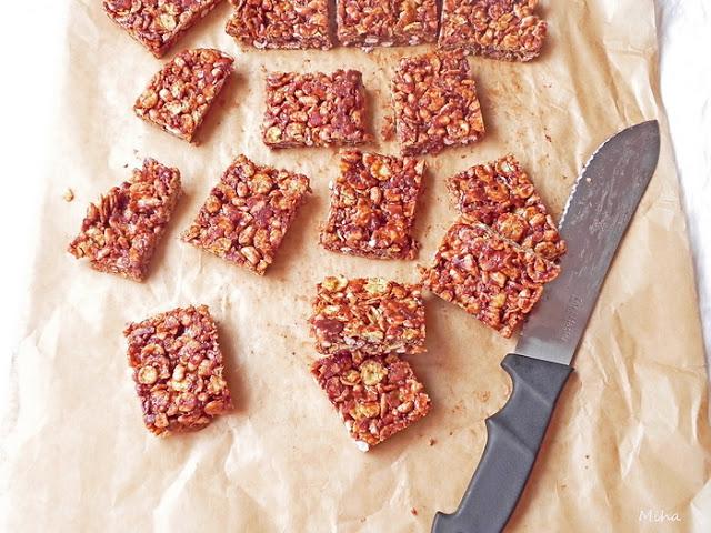 Baton de cereale cu ciocolata
