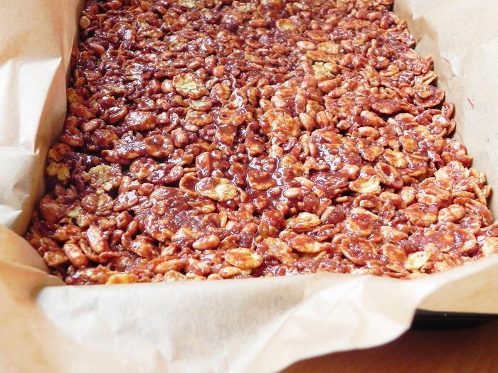 Batoane de cereale cu ciocolata