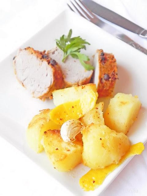 Cartofi prajiti cu lamaie si usturoi