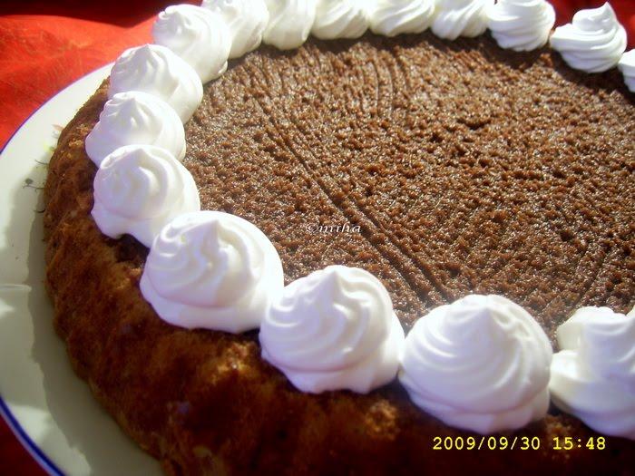 Tarta cu ciocolata si frisca