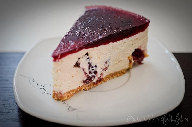 Cheesecake cu visine